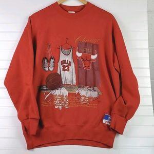 Vintage Bulls 23 Jordan Graphic Sweatshirt XL